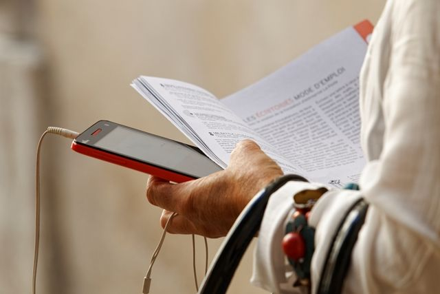 La littérature autrement aux #Correspondances de #Manosque  Crédits : Laurent Gayte- Manosque