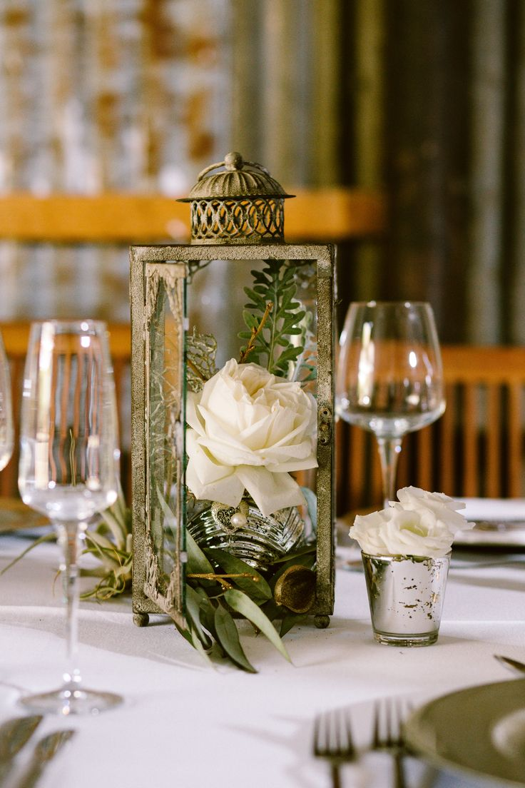 Lantern MD013b with mercury votives MD018 + MD018a used at Niccis glam barn wedding at the Cowshed - items to hire from moidecor.co.za/hiring