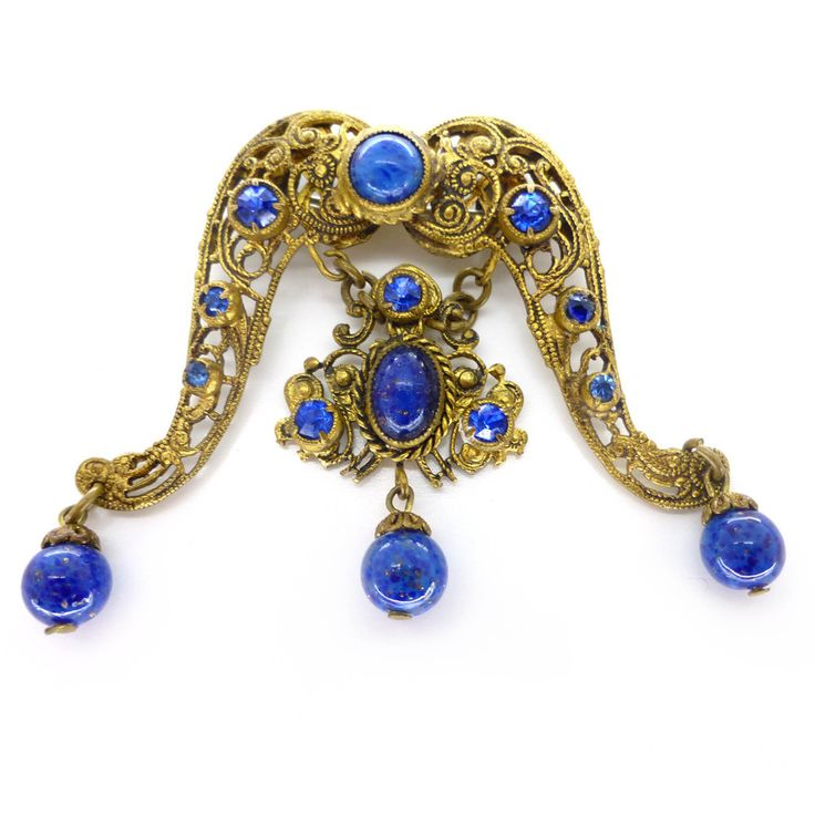 661 best images about vintage czech costume jewelry on for Art deco costume jewelry