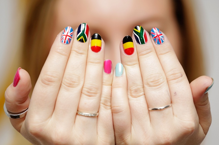 The 18 Best Nail Art At The Pg Salon Images On Pinterest Nailed