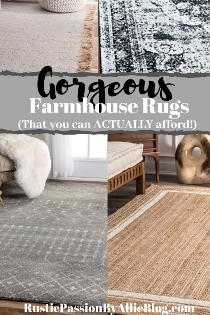 15 One Of A Kind Modern Farmhouse Rugs 5 Tips To Pick The