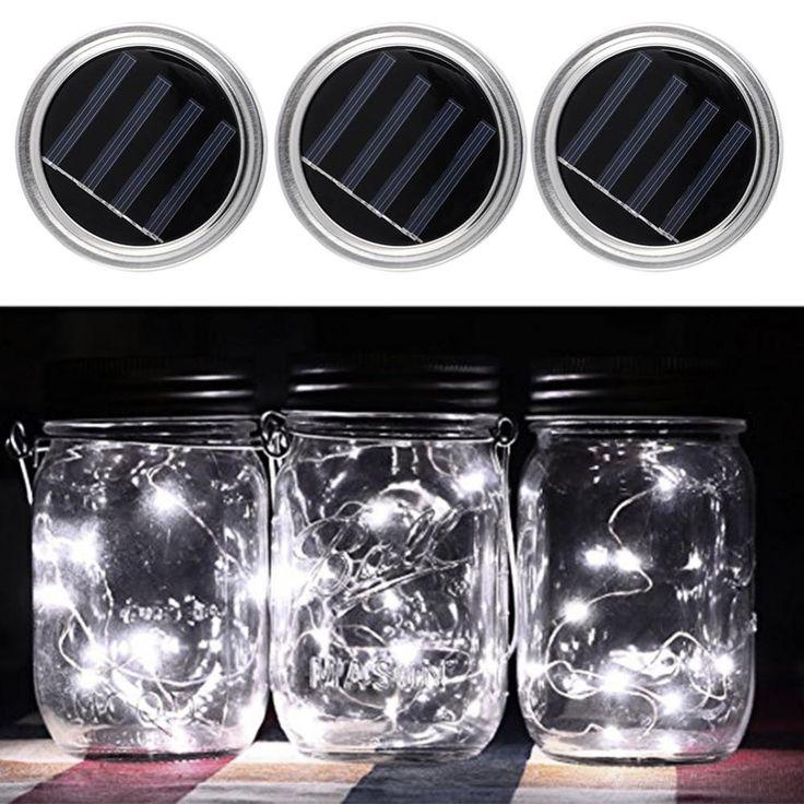 Best 25+ Solar Mason Jars Ideas On Pinterest