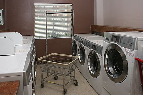 Wilmot North onsite laundry room #cleanclothes #laundry #seniorliving