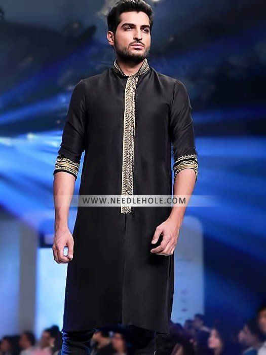 Mens Kurta Pajama Suit For Wedding and Reception HSY Studio. Discover men's kurta pajam suits with needlehole. Shop from hundreds of different mens kurta styles by HSY