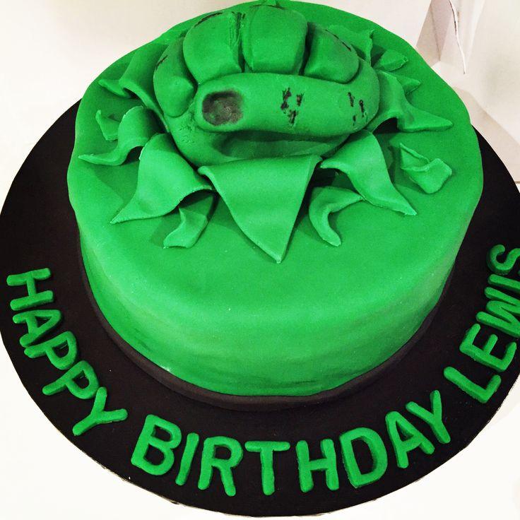 Hulk Fist Cake