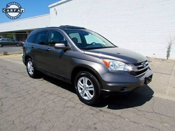 Honda CRV EX-L SUV Leather Sunroof Carfax Certified We Finance Cheap (27025_We_Finance)