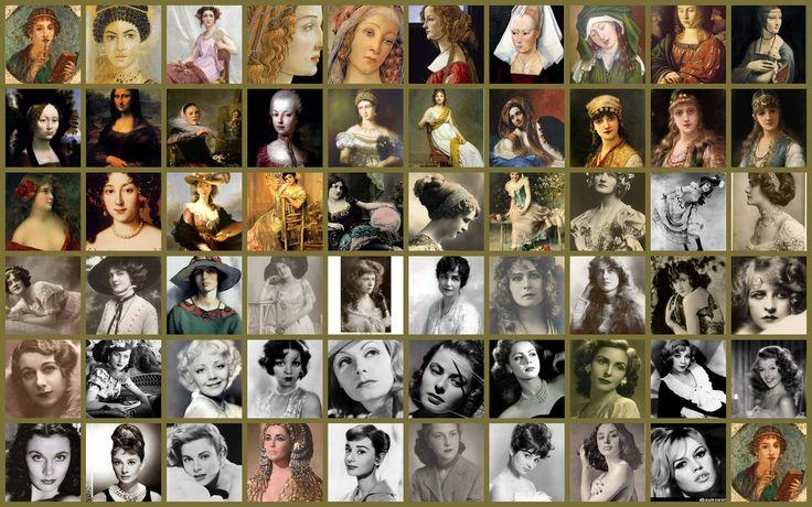 Mujeres a lo largo de la historia