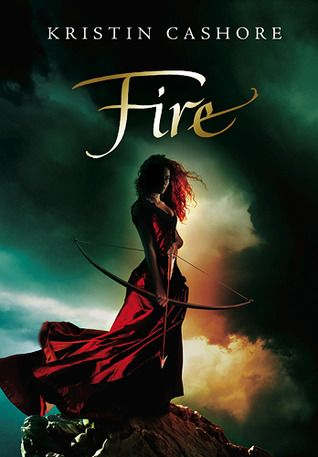 Love this non-US cover for Kristin Cashore's Fire. It's moody and dramatic, and I love how rich the reds look against the dark background. It's stunning, much like what the MC Fire is reputed to be.