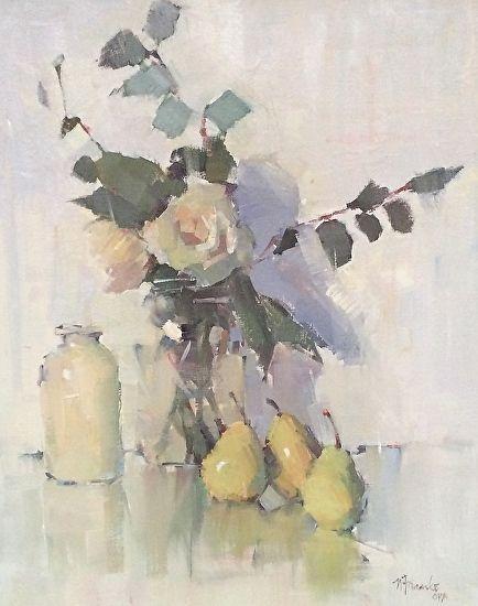 Closer to Home by Nancy Franke Oil ~ 30 x 24