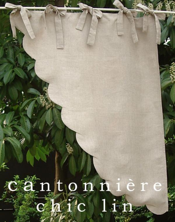 17 meilleures images propos de rideaux sur pinterest for Cantonniere pour fenetre