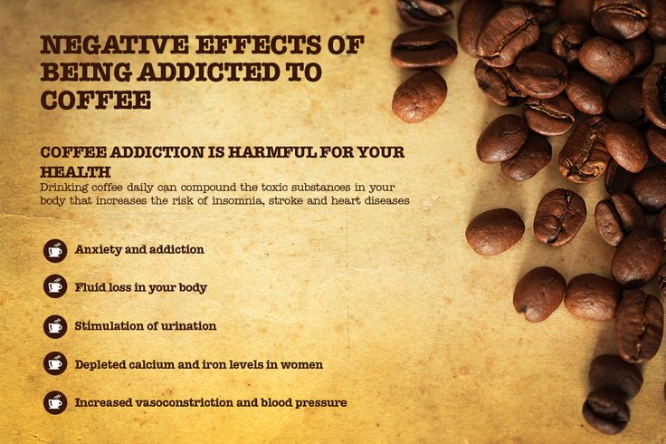 Negative effects of drinking Coffee http:\/\/www.researchomatic.com ...