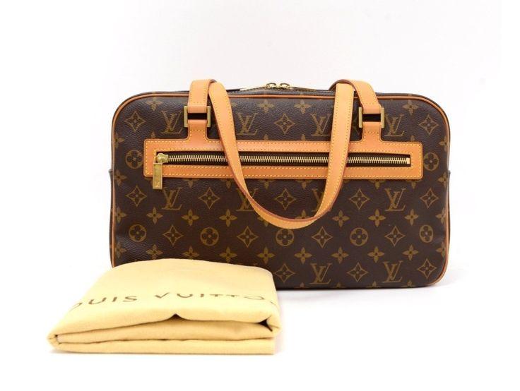 Louis Vuitton monogram Cite GM as purchased.