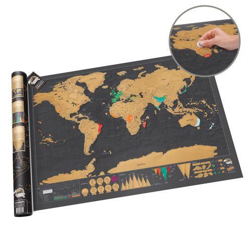 Die Weltkarte zum Rubbeln Deluxe ist eine wunderschöne Weltkarte im nostalgischen Flair – mit speziellem Clou: Einfach die besuchten Länder freirubbeln und staunen :) via: www.monsterzeug.de
