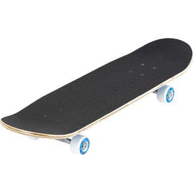 Skateboard Cruiser - blauw  Haal de coolste trucs uit met dit skateboard Cruiser! Dit skateboard is voorzien van gripvaste sliptape en stevige ABEC-1Carson wielen met blauwe accenten.  EUR 19.99  Meer informatie