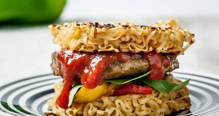 Ricetta di Ramen burger