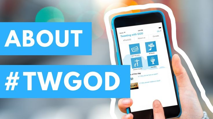 About Tweeting with GOD