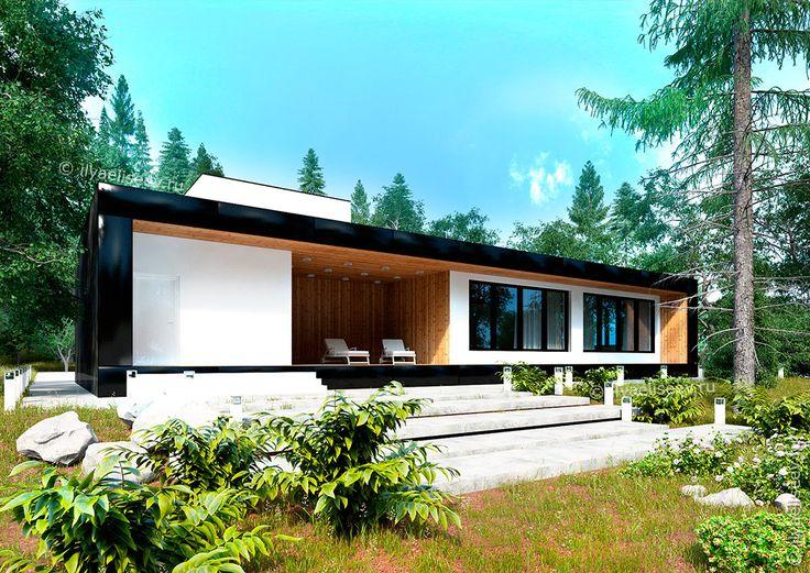 Проекты современных домов и коттеджей минимализм
