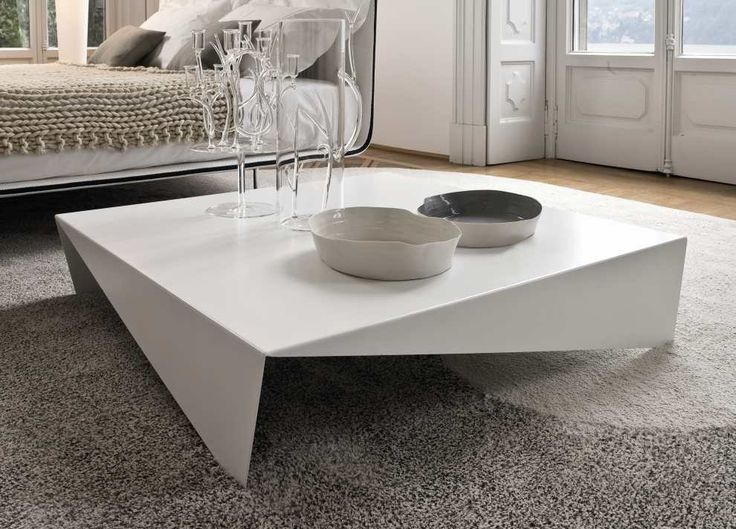 The Voila coffee table from Bonaldo looks almost Japanese with its low  lines & Origami design, but is also umistakably Italian, & ultra modern. - 25+ Best Ideas About Large Coffee Tables On Pinterest Big Coffee