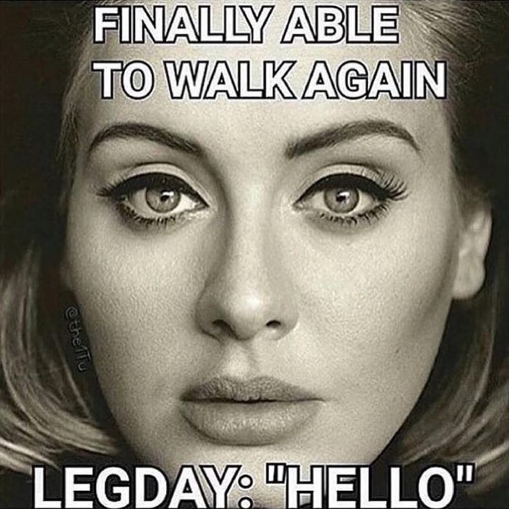 Finally can walk again. Oh wait....