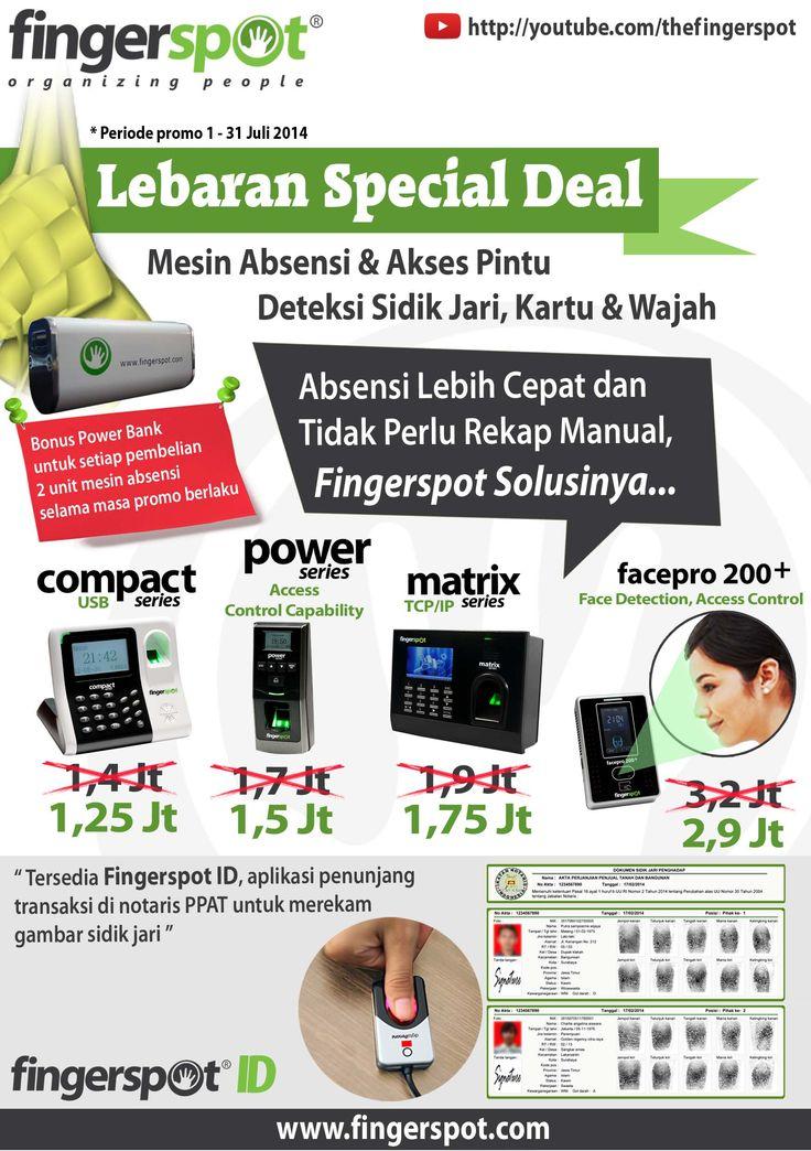 Lebaran Special Deal Cover Depan Juli 2014