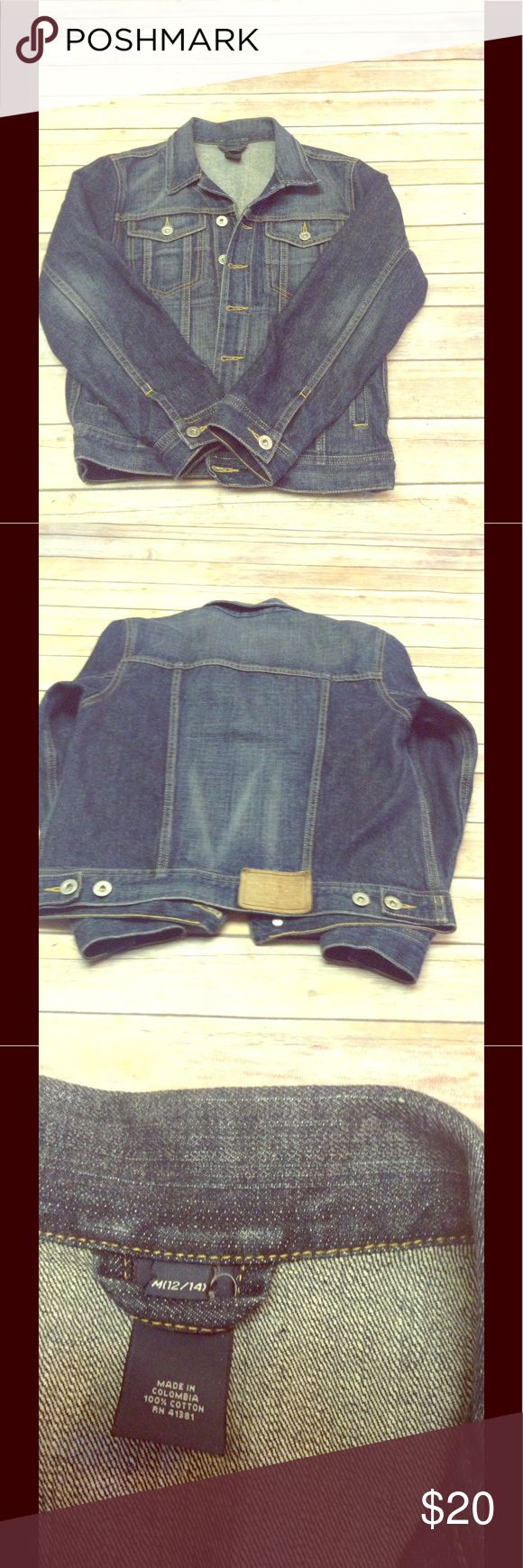 Ralph Lauren POLO denim jacket Beautiful POLO jacket in excellent pre-loved condition. This is a child's jacket, size 12-14. It is the same as a woman's XS-S. Ralph Lauren POLO Jackets & Coats Jean Jackets