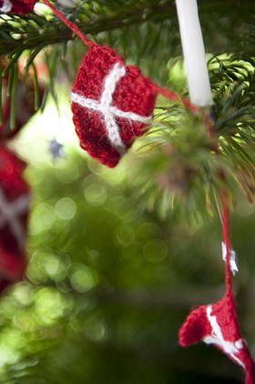 Hæklet flagranke - Julehåndarbejde - Jul - Familie Journal