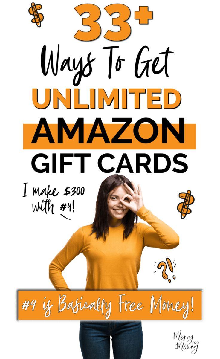 33 legit ways to get free amazon gift cards amazon