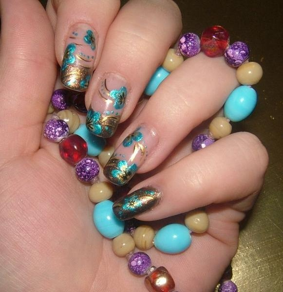Acrylic Nail Art Designs Gallery: Top 25+ Best Acrylic Nail Designs Pictures Ideas On