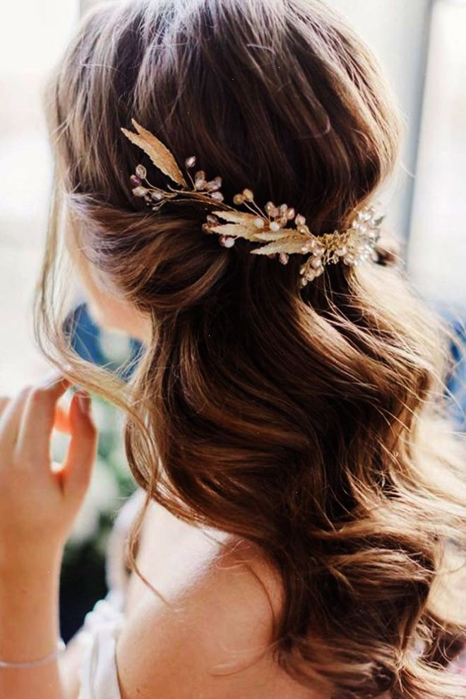 Beautiful And Simple Wedding Hairstyles See More Weddings