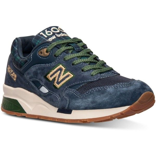 New Balance Women's 1600 Tartan Casual Sneakers from Finish Line ($120) ❤ liked on Polyvore featuring shoes, sneakers, new balance sneakers, new balance shoes, new balance, plaid sneakers and retro shoes