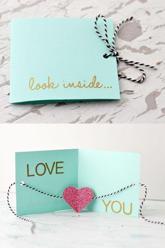 Днем рождения, открытка своими руками люби