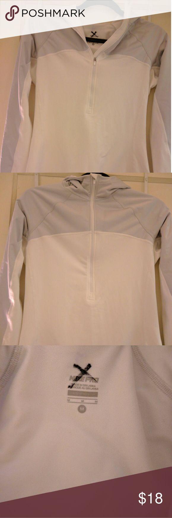 Nike pullover hoodie. Fairly thick Nike pullover. Never worn. NWOT Nike Tops Sweatshirts & Hoodies