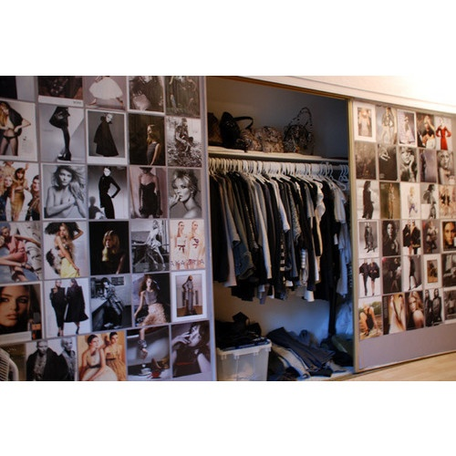 Tear Out Images And Tape/clip/thumbtack Them To An Empty Wall And On Your  Closet Doors Where You Can See Them.