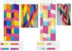 HandMade: Plantilla diseños fajón wayuu