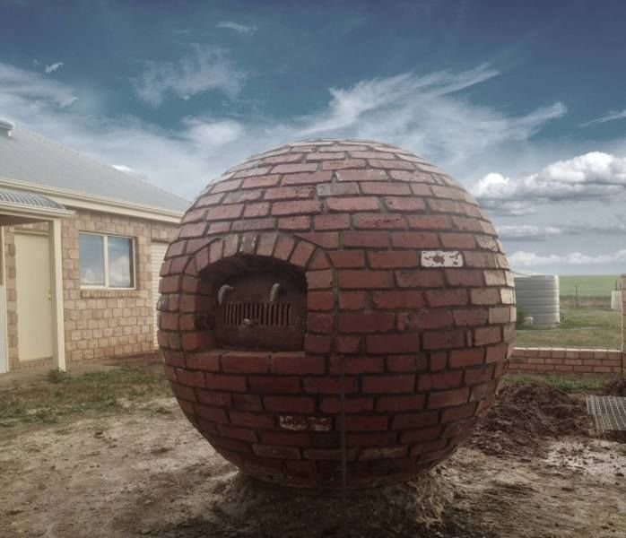 Spherical oven.
