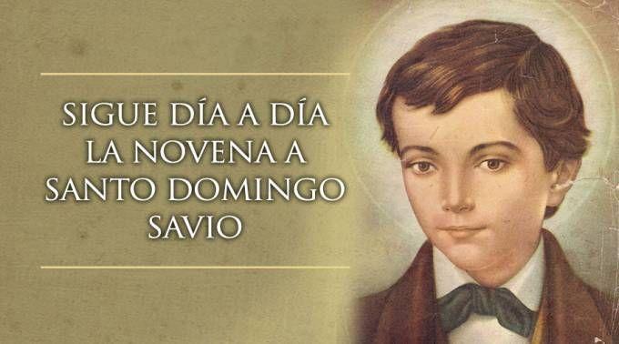 Hoy se inicia la novena a Santo Domingo Savio, Patrono de las embarazadas