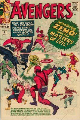 Avengers Comics Price Guide