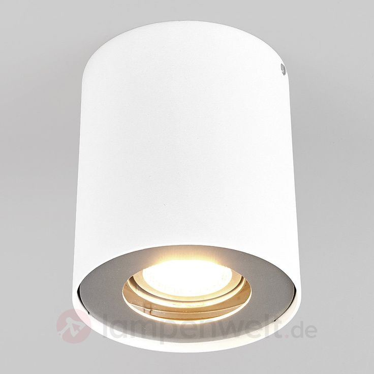 Weißes GU10-LED-Downlight Giliano 9975001