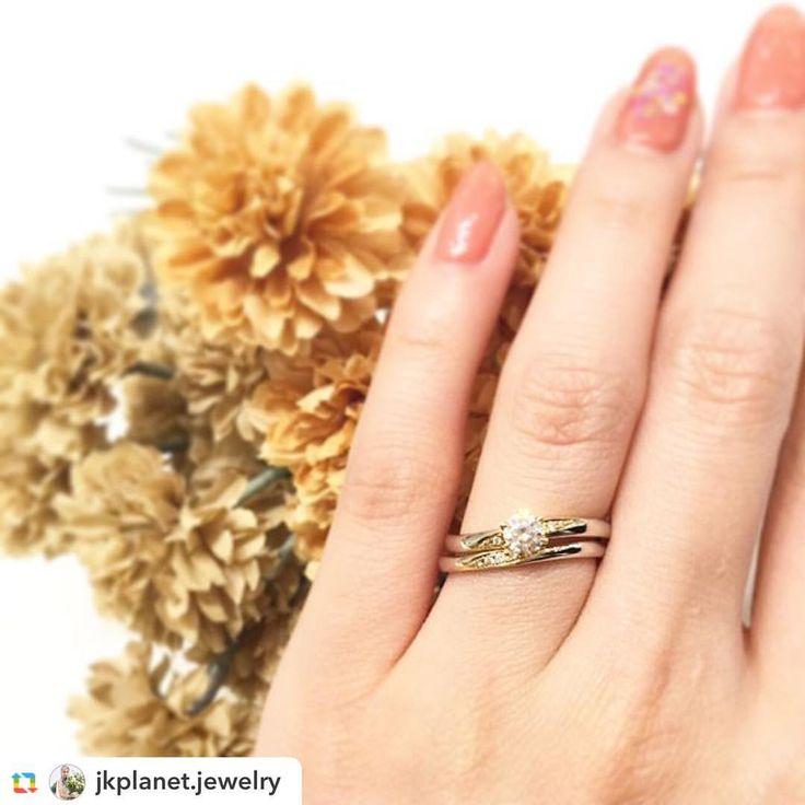 @jkplanet.jewelry:【RosettE:ロゼット】 リング名💍:魔法 緩やかな曲線を描いたデザイン✨ 《何気なく過ぎていく日々の中で助け合うことを忘れないように》というお二人の優しい気持ちを表したリングです。 . @RosettE_bridal は、@JKPlanet.jewelry 全店にて取り扱い。 ⇩#JKPlanetSHOP LIST⇩ 銀座・表参道・福岡天神・宮崎・鹿児島天文館 . #JKプラネット #結婚指輪のセレクトショップ #ロゼット #婚約指輪 #エンゲージリング #結婚指輪 #結婚指輪💍 #婚約指輪💍 #結婚指輪探し #福岡花嫁 #マリッジリング #プロポーズ #ウェディングニュース #リングラフ #プレ花嫁 #日本中のプレ花嫁さんと繋がりたい #銀座 #表参道 #原宿 #福岡 #天神 #鹿児島 #宮崎 #2018冬婚 #2018春婚 #Ginza #Omotesando #Harajuku #Fukuoka