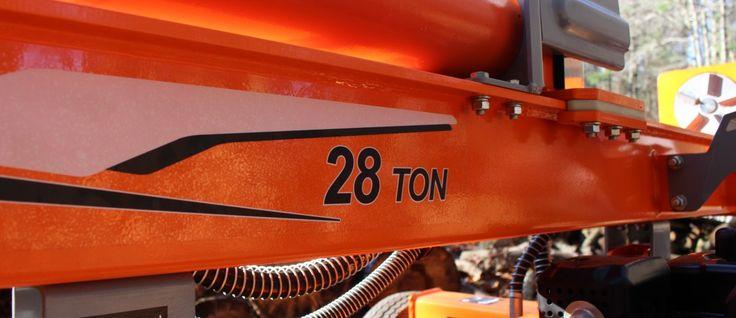 YARDMAX 28 Ton Log Splitter - Tool Review