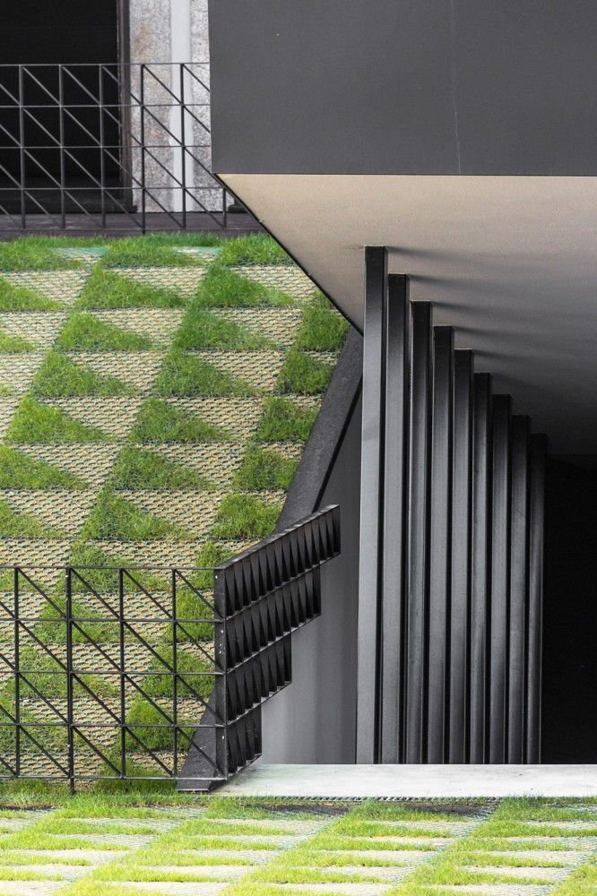 Permeable Paving @ DM2 Housing designed by OODA >> More inspiration at www.shapedscape.com Your NEW Landscape Architecture Platform <<