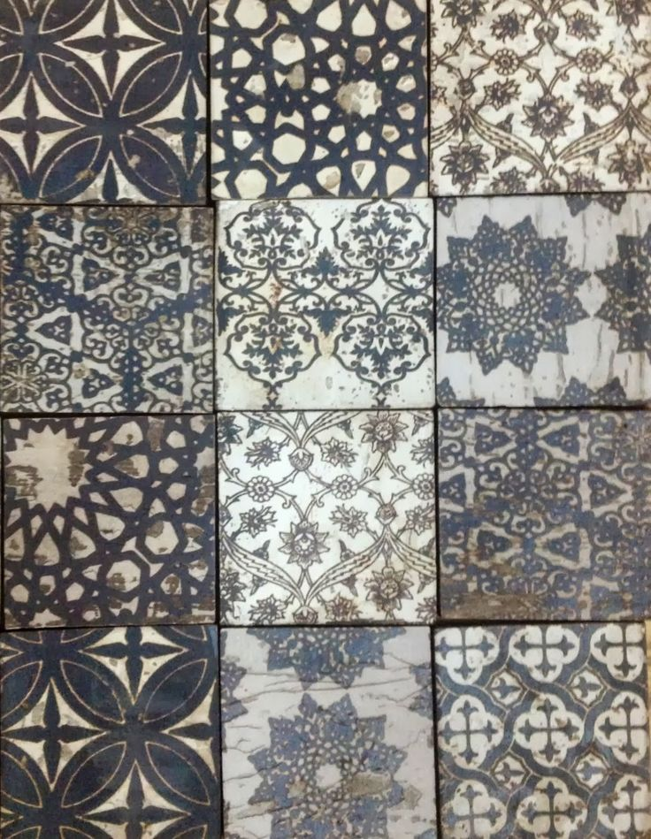 I'm a little bit addicted to tiles like these... Origins tiles at www.cletile.com