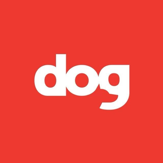 This design is creative because it is the word dog with a dog in the word. #identity