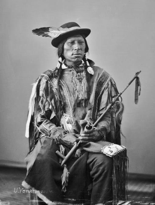 Cante Ha - Yankton Sioux Nation - 1872