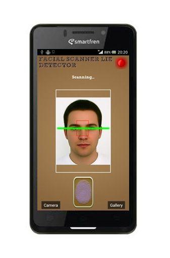 Facial Scanner Detector, app ini bisa mendeteksi kebohongan lewat ekspresi wajah lho. Seru ya! #SMARTaplikasi