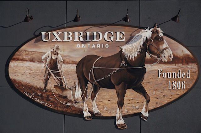 The Town of Uxbridge in Ontario