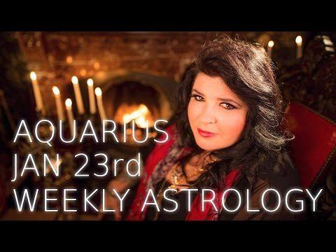 Your Horoscope: Aquarius Weekly Astrology Forecast 23rd January 20...
