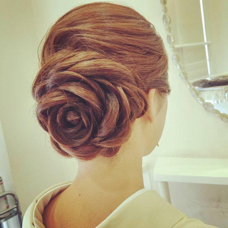 一度はやってみたい薔薇盛り♡両家顔合わせ・結納のときの髪型まとめ一覧