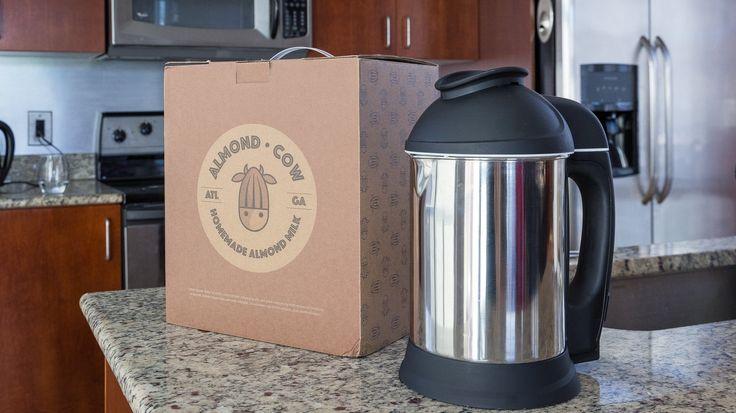 WHOLE FOOD ALCHEMYST HEALTH SOURCE : Almond Cow Milk Machine: A New Kitchen Gadget to C...