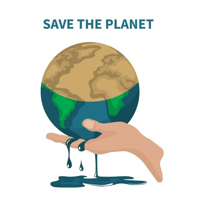 Vector Of Saving The Planet About Global Warming Global Warming Earth Png And Vector With Transparent Background For Free Download Global Warming Save The Planet Save Earth